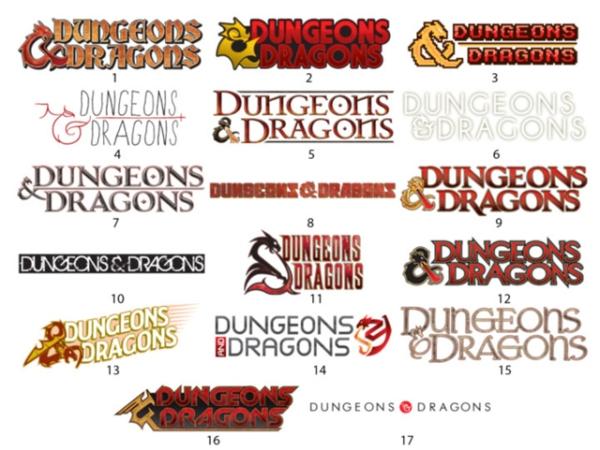 D&D 5E Logos
