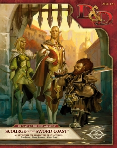 D&D Next: Dreams of the Red Wizards: Scourge of the Sword Coast