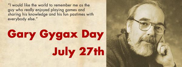 Gary Gygax Day
