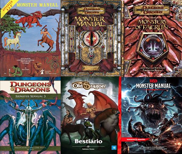 Alguns dos melhores livros dos monstros