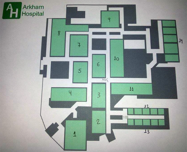 Arkham Hospital 2nd Floor